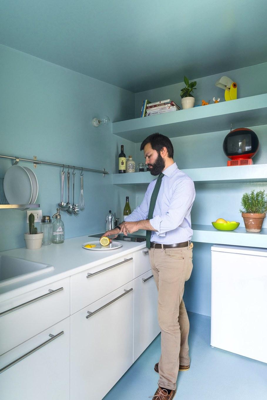 OCS Batipin Flat Transformer Apartment In Milan - Kitchen