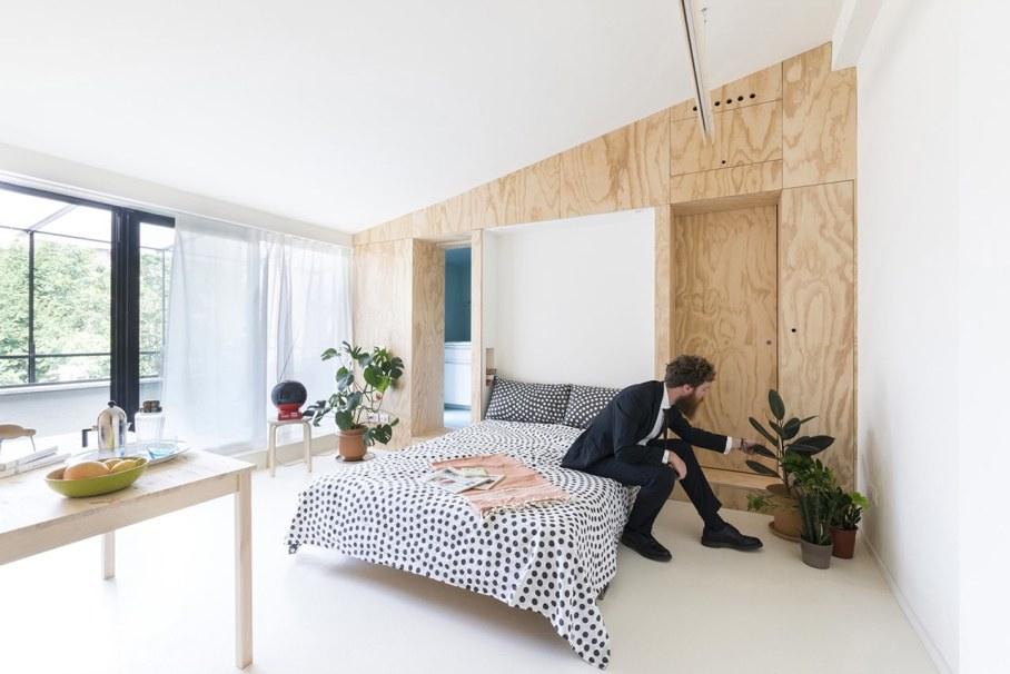 OCS Batipin Flat Transformer Apartment In Milan - living room dining room and bedroom 3