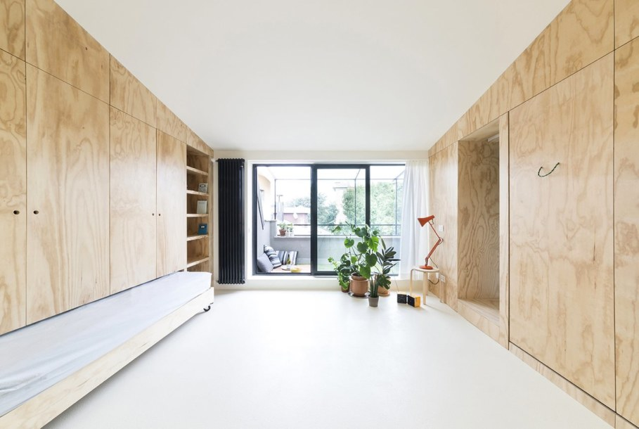OCS Batipin Flat Transformer Apartment In Milan - living room dining room and bedroom