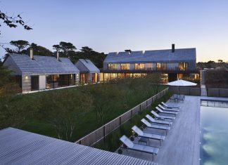 Piersons Way residence by Bates Masi + Architects in East Hampton