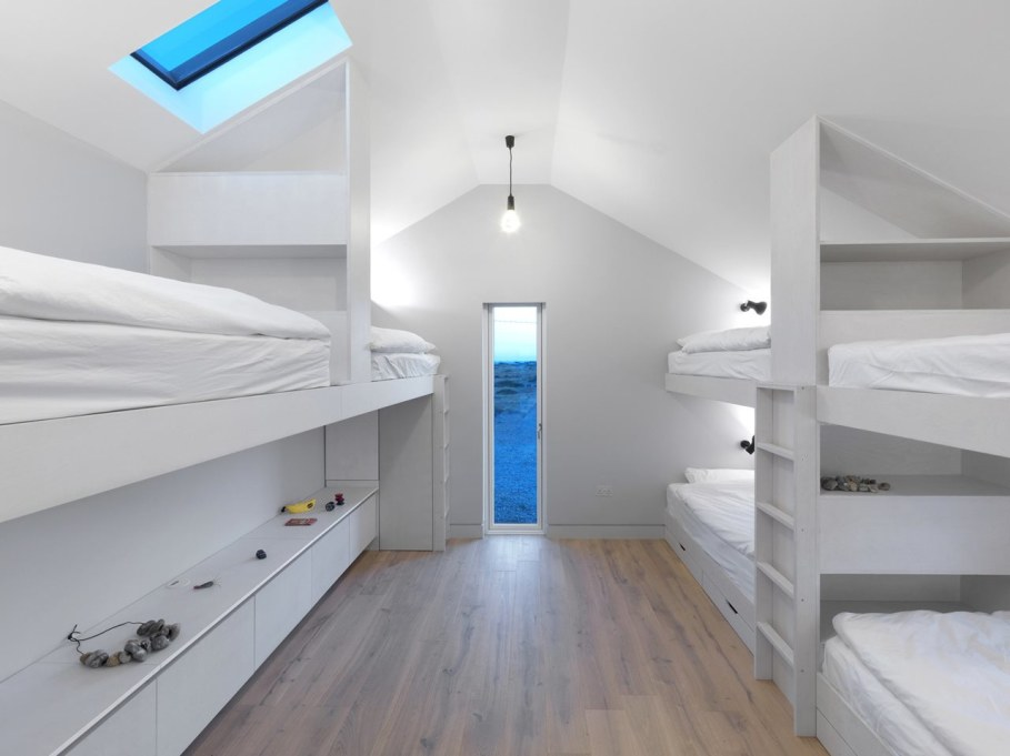 Pobble House by Guy Hollaway Architects - Bedroom