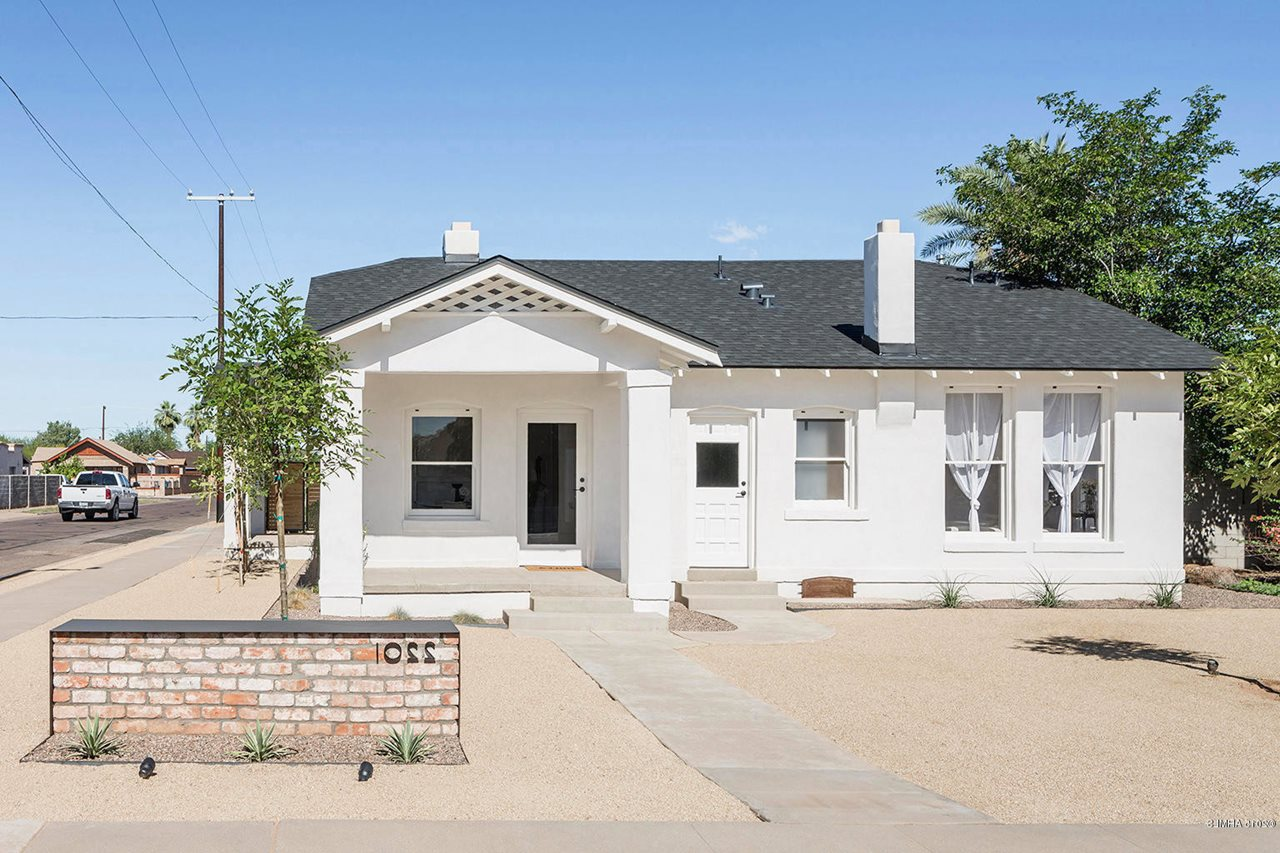 Restoration of a historical house in phoenix for Restoration house