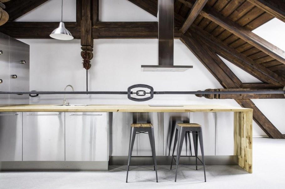 Spacious loft in the Czech Republic - Kitchen
