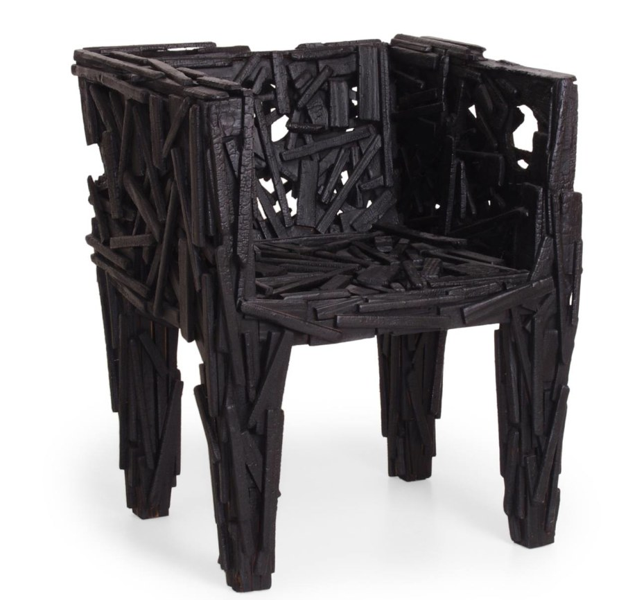The Campana Brothers 2003 Favela Chair produced in lots by Edra trademark
