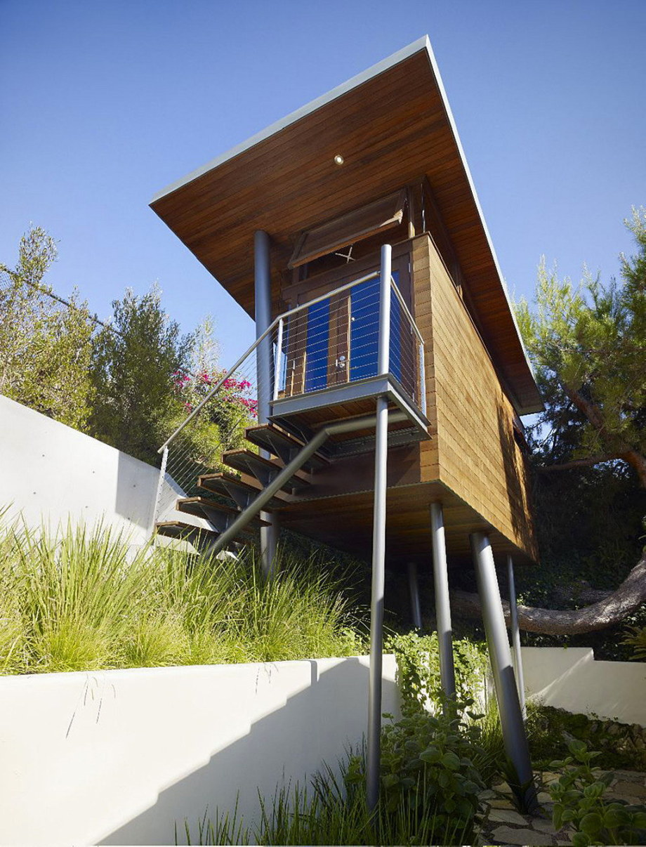 The art studio on a tree by Rockefeller Partners Architects 4