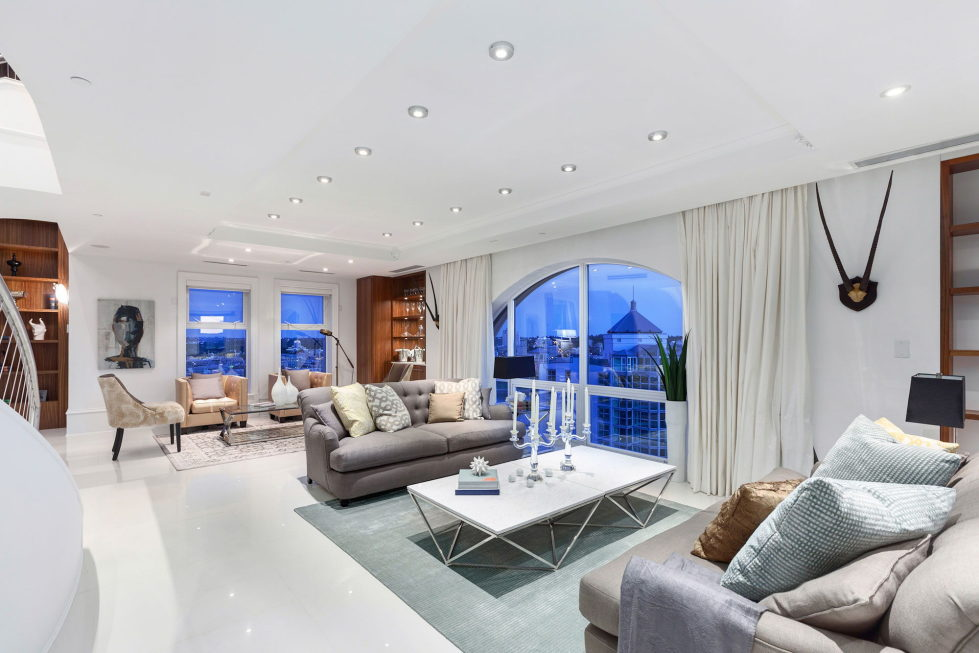 The luxury penthouse Elysium in Grace Tower, Vancouver, Canada 1