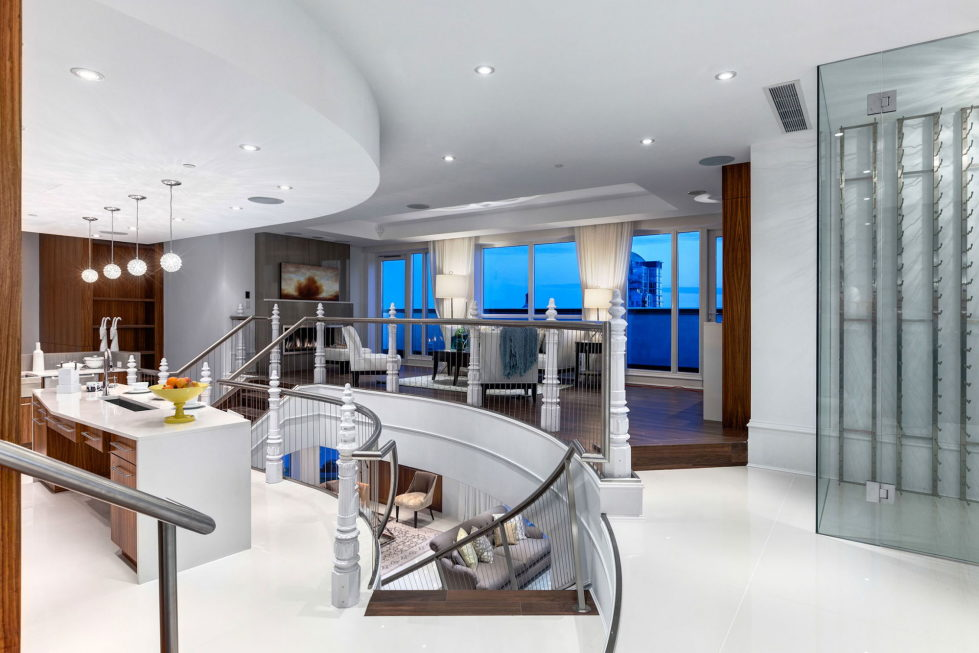 The luxury penthouse Elysium in Grace Tower, Vancouver, Canada 4