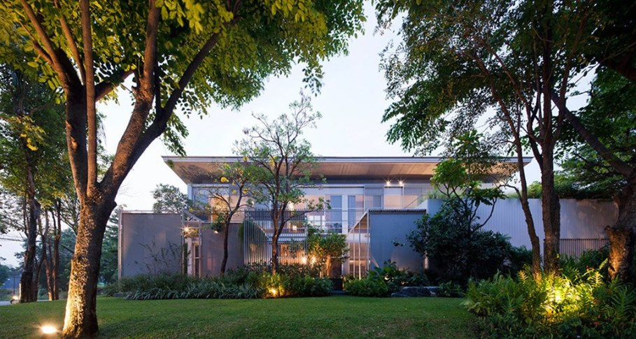 The mansion in Thailand from the Department of Architecture 1