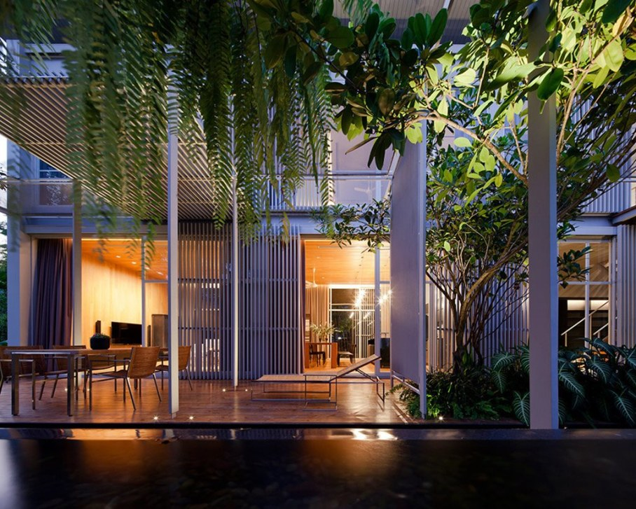 The mansion in Thailand from the Department of Architecture 2
