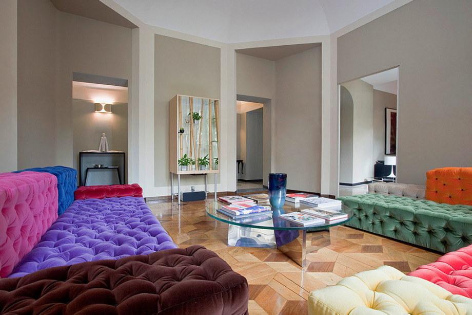 The modern apartment in Milan 1