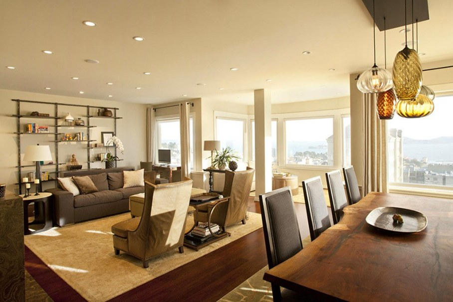 The penthouse with roof terrace in San Francisco 1