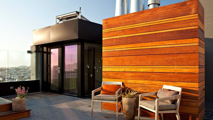 The penthouse with roof terrace in San Francisco 20