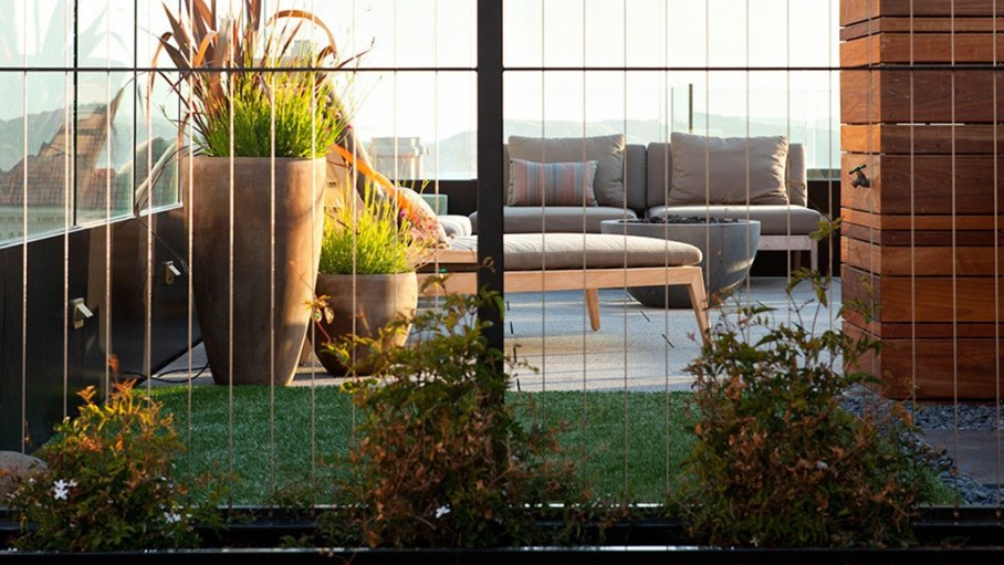 The penthouse with roof terrace in San Francisco 21