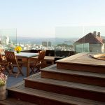 The penthouse with roof terrace in San Francisco