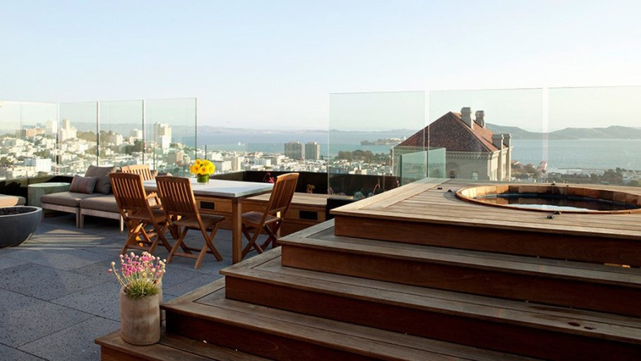 The penthouse with roof terrace in San Francisco 22