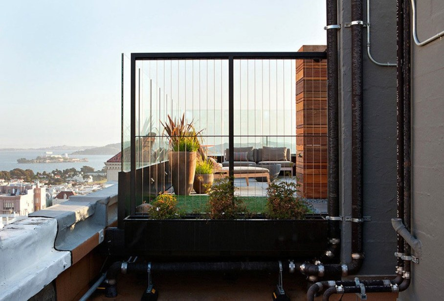 The penthouse with roof terrace in San Francisco 24