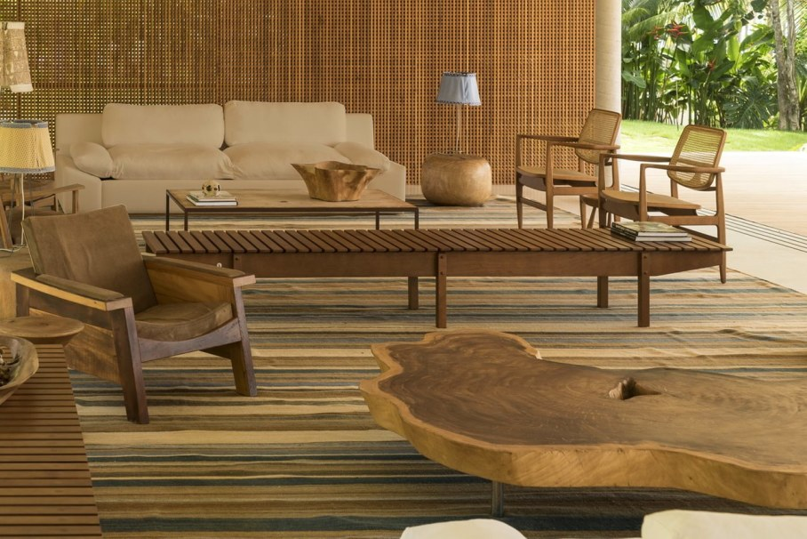 The residence in tropical style in Brazil - Interior 3