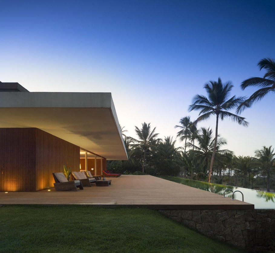 The residence in tropical style in Brazil - Outdoor terrace 7