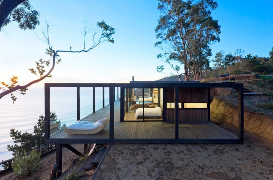 The residence on the rocky coast in Chile - Exterior 5