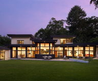 The restoration of the private residence in Chestnut Hill, Massachusetts