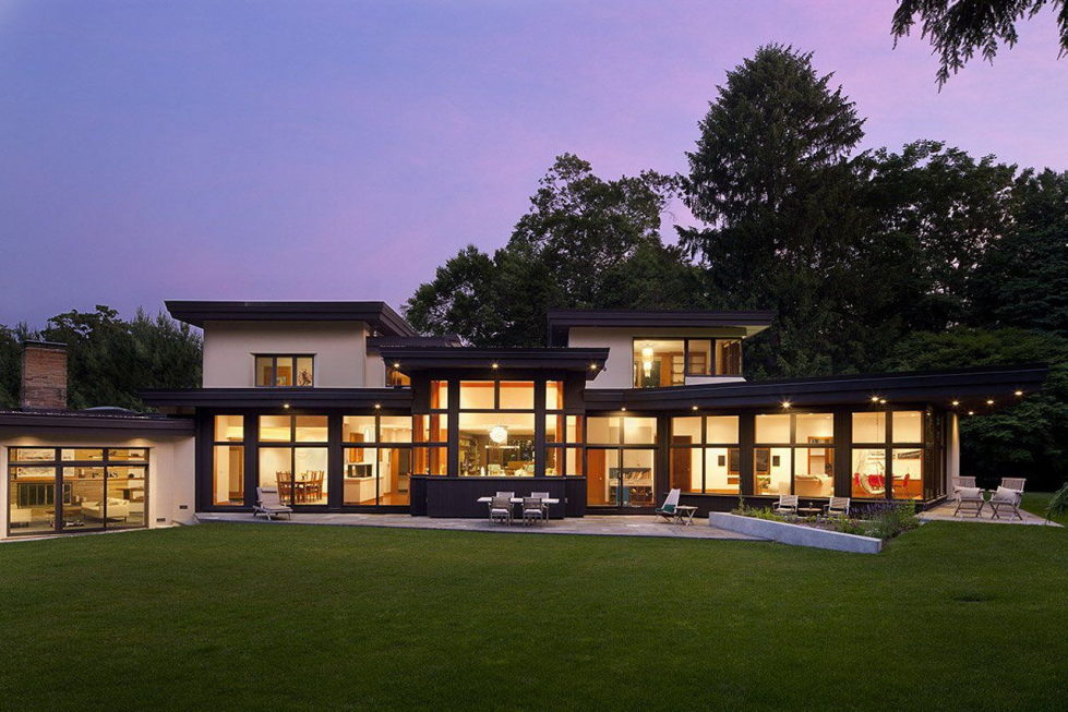 The restoration of the private residence in Chestnut Hill, Massachusetts 1
