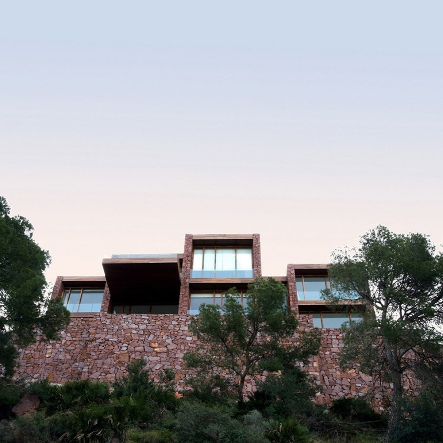 The stone villa in Valencia by Ramon Esteve Estudio 2