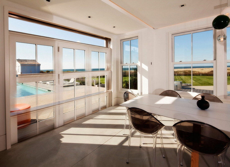 The tradition and modern style in the project Squam 12