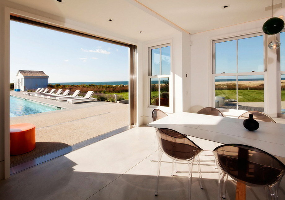 The tradition and modern style in the project Squam 13
