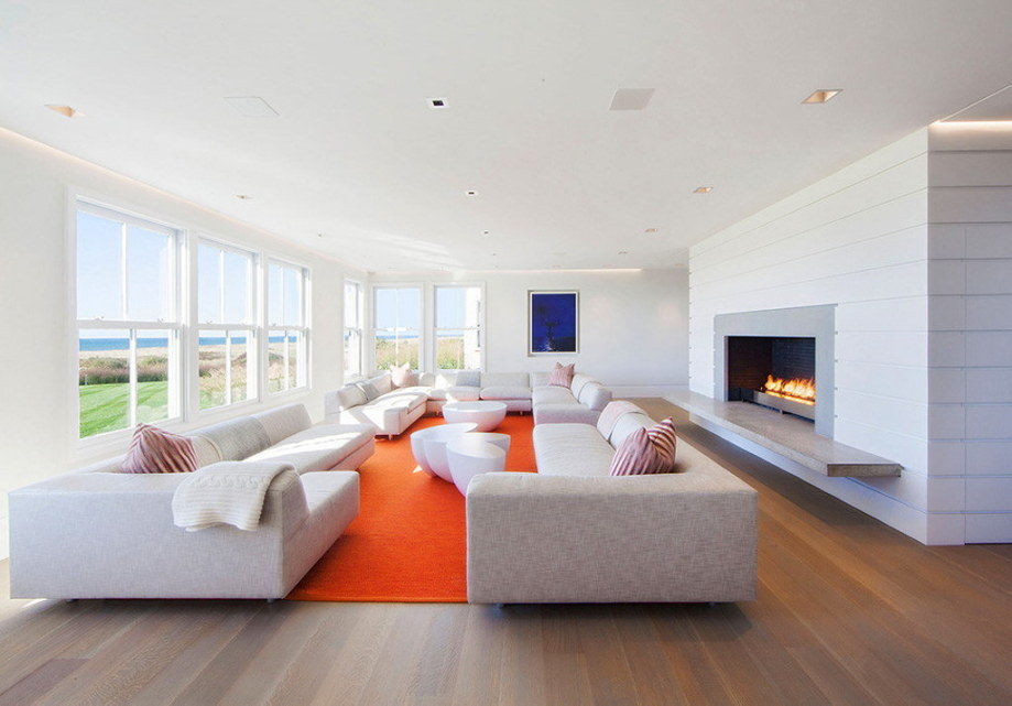 The tradition and modern style in the project Squam 3