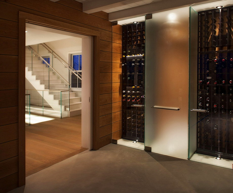 The tradition and modern style in the project Squam 36