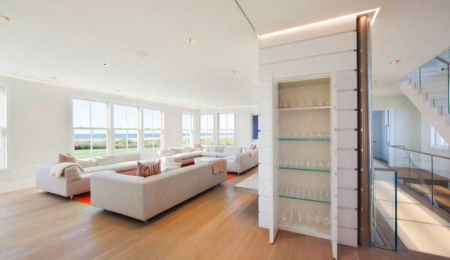 The tradition and modern style in the project Squam 4