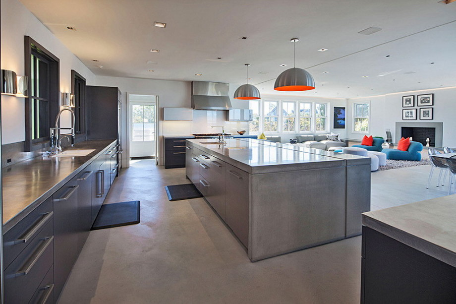The tradition and modern style in the project Squam 6