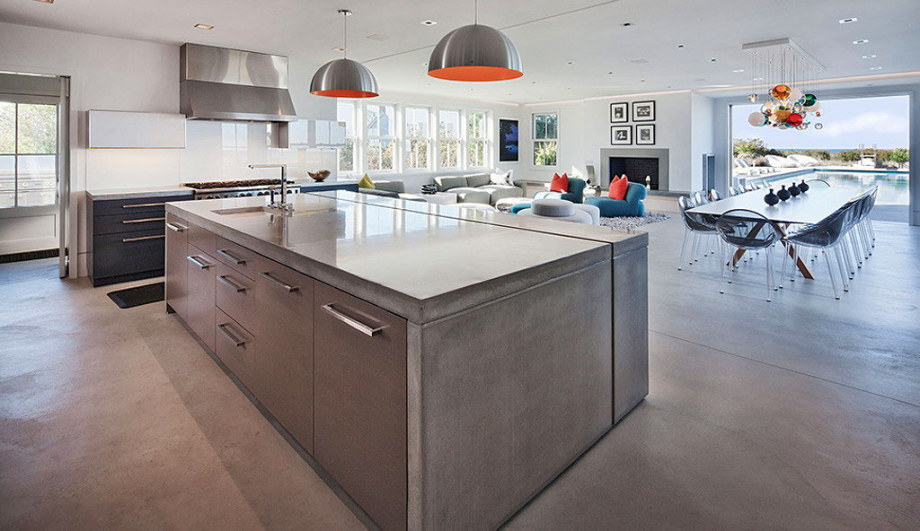 The tradition and modern style in the project Squam 7