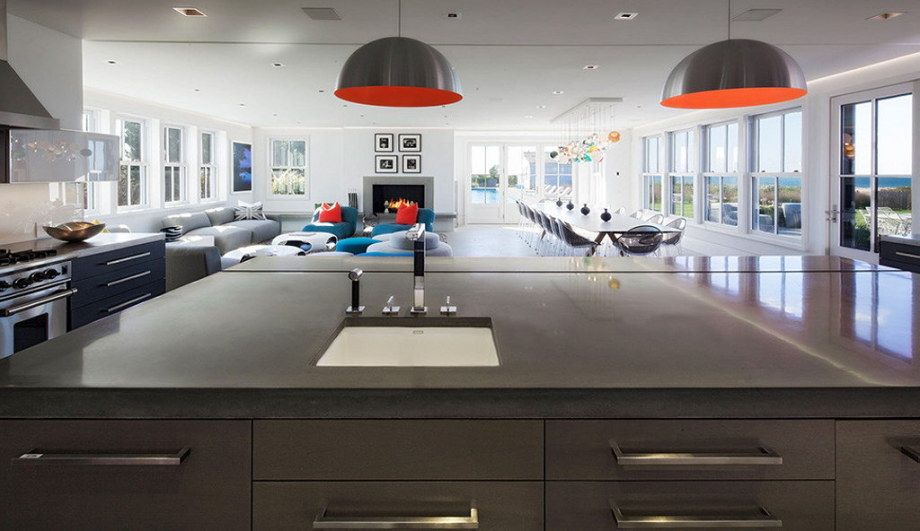 The tradition and modern style in the project Squam 8