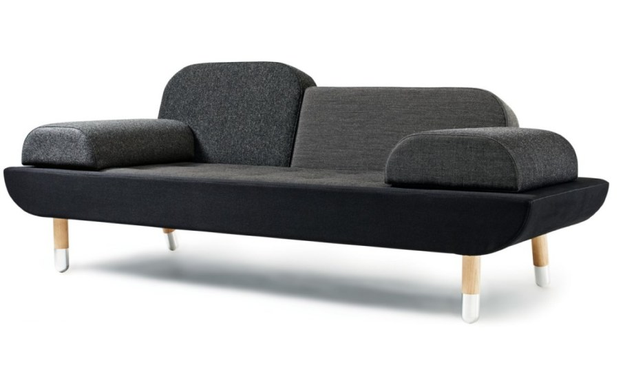toward sofa by the danish designer anne boysen. Black Bedroom Furniture Sets. Home Design Ideas