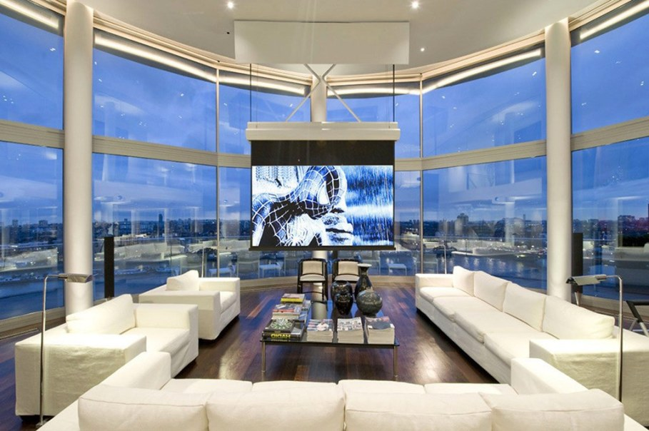 Two-Storey Penthouse Overlooking The Thames, London 2