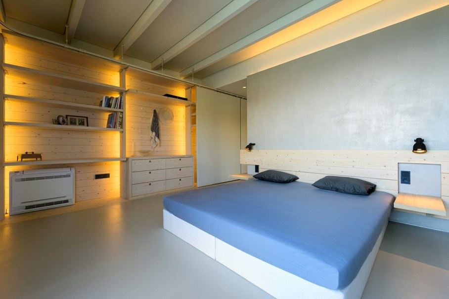 Two villas on the Aegean coast - Bedroom