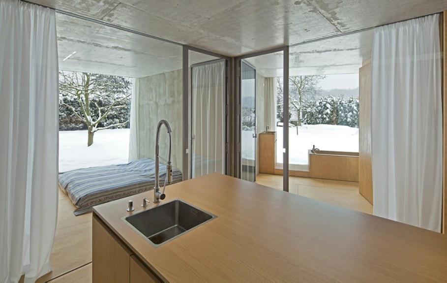 Unique design - villa Chameleon - kitchen island