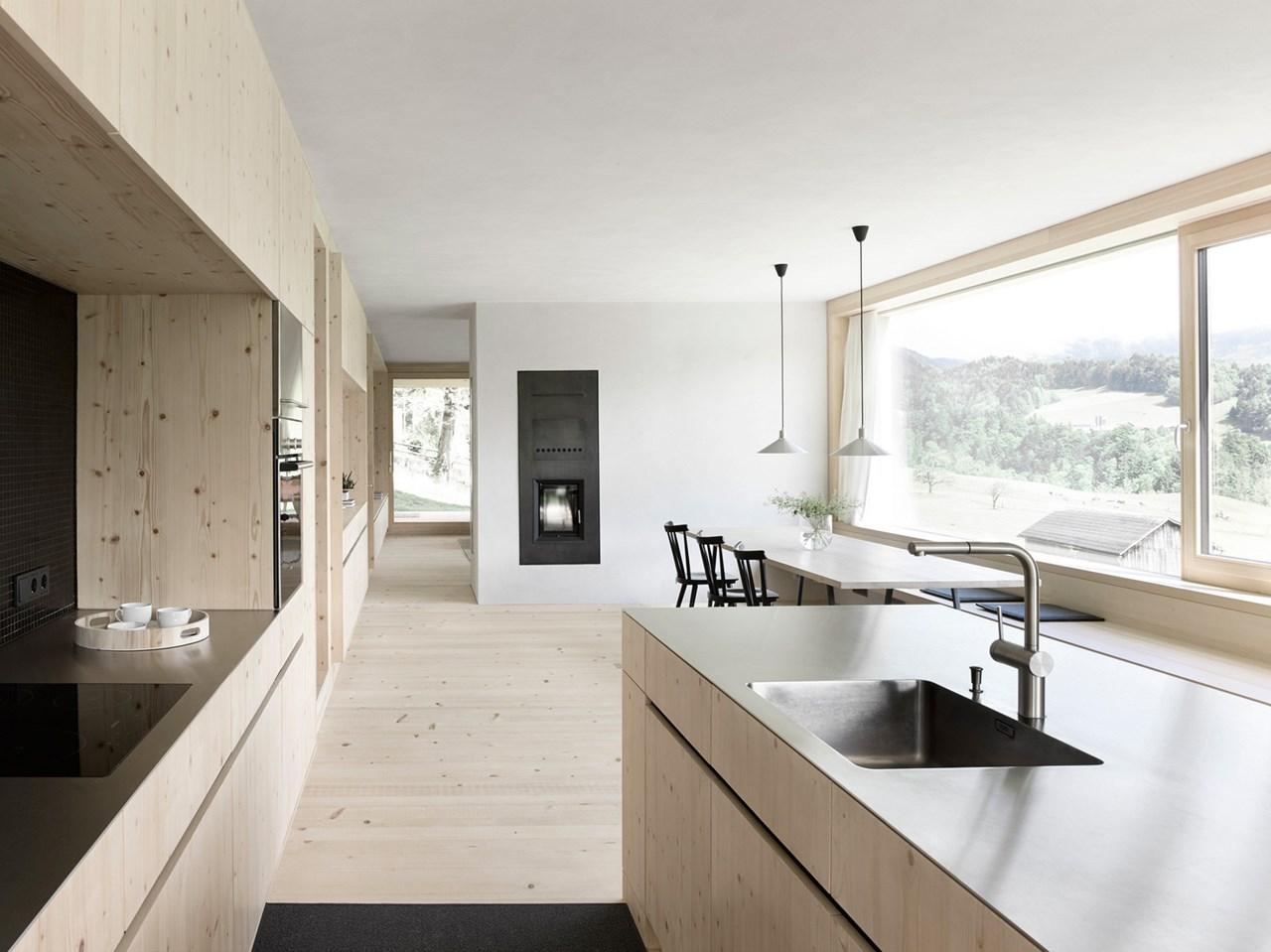 Wooden House By Innauer Matt Architekten In Austria