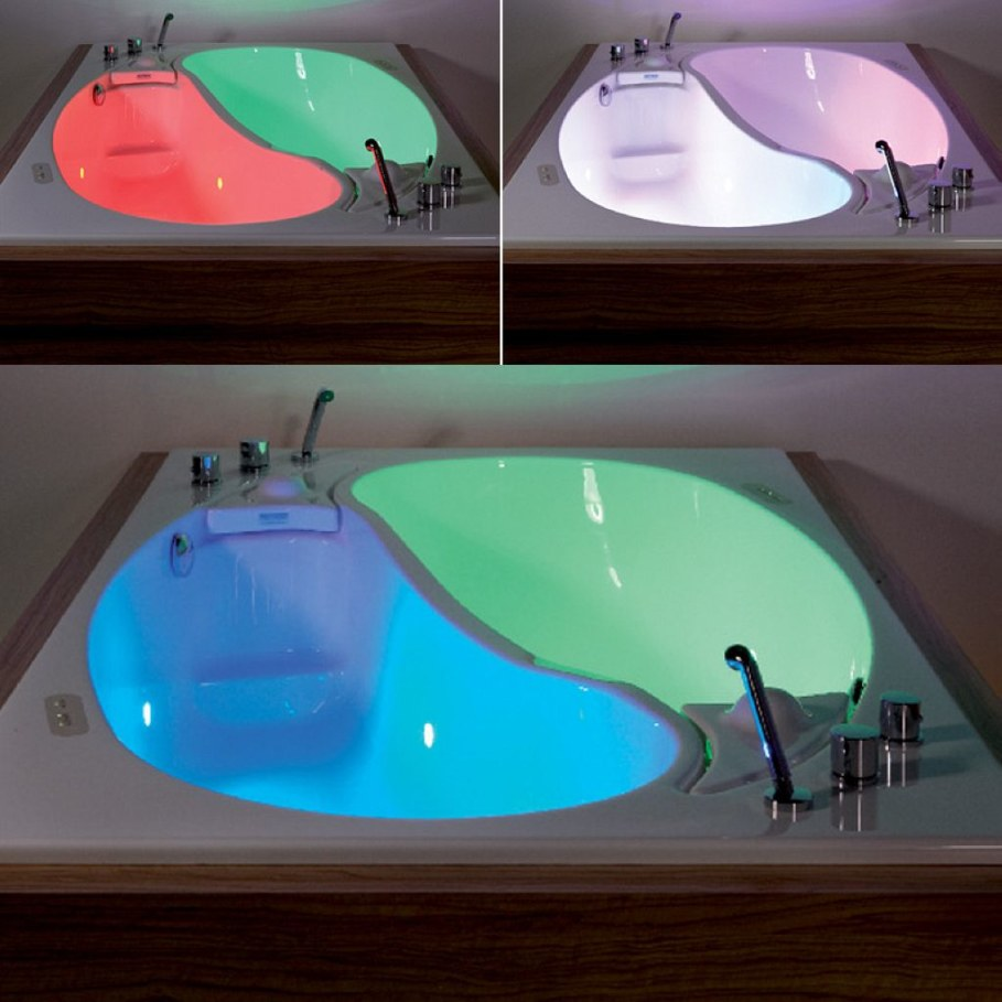 Yin-Yang-bathtub-different-led-light