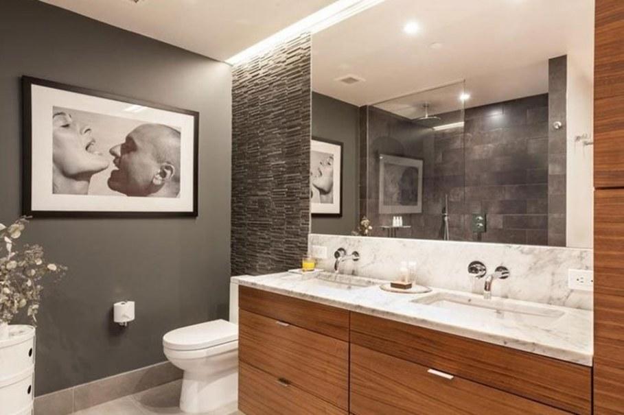 luxury apartments in New York bathroom 1