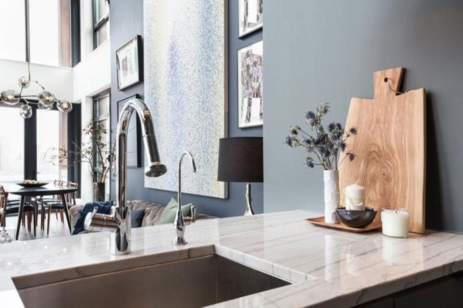 luxury apartments in New York kitchen dining room 2