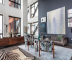 Interior design: luxury apartments in bohemian district of New York