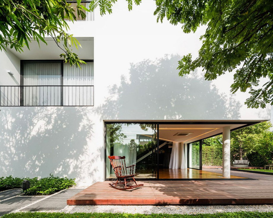 Baan Moom House In Bangkok From Integrated Field Studio 5