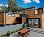 arca the modular house for rest and creative work