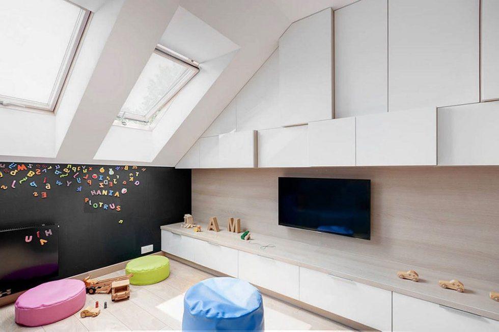 Bright Details At The Stylish House From Widawscy Studio Architektury 11