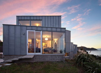 Cook Strait House In New Zealand From Tennent + Brown Architects