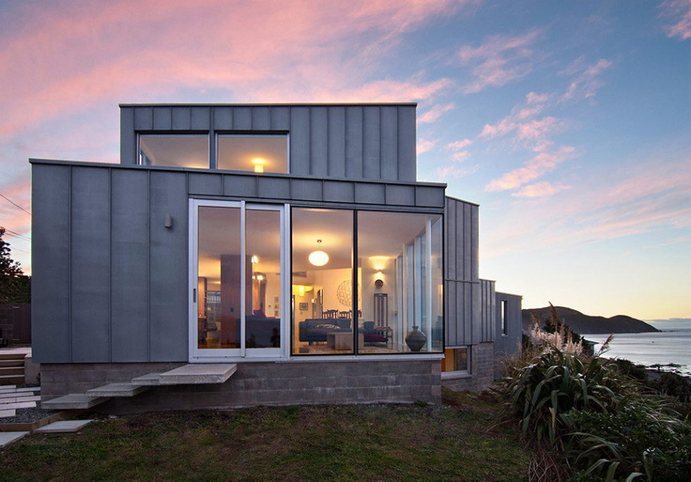 Cook Strait House In New Zealand From Tennent + Brown Architects 2