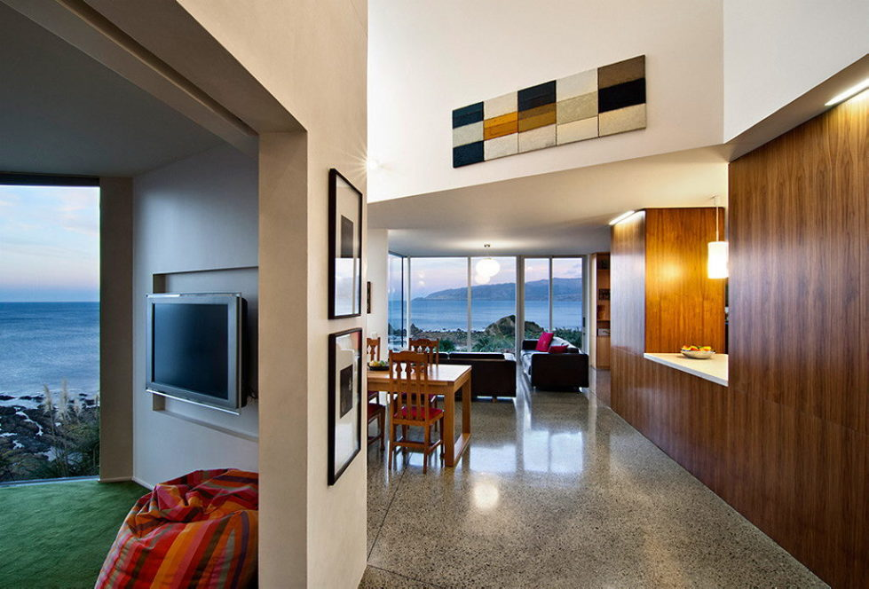 Cook Strait House In New Zealand From Tennent + Brown Architects 3
