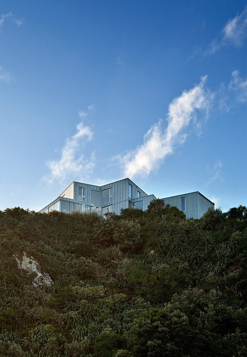 Cook Strait House In New Zealand From Tennent   Brown